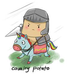 Cavalry Potato (lol) by Crowlake