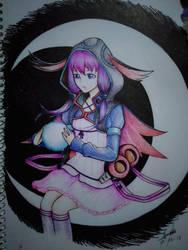 Lunar Witch Yukari by Crowlake