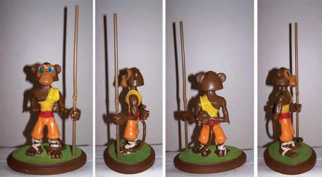 Monkey Monk Maquette Final by jdmason