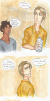 He's Not Saying That to Steve. by LOTOLLE
