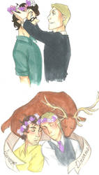Hannigram Flower Crown by LOTOLLE