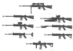 albedo guns II by timberfox15