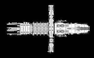 Jovian Warship by timberfox15