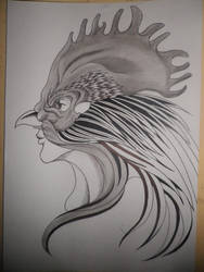 Mascara de gallo by wizard-ank
