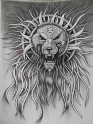 Lion warrior III by wizard-ank