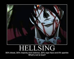 Hellsing Motivation by HappyNomNom13