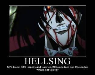 Hellsing Motivation by HappyNomNom13