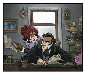 CLUES -at work- by kyla79