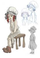 A Little Girl by kyla79