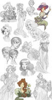 Huge sketchdump by kyla79