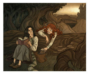 Severus and Lily by kyla79