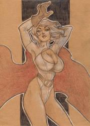 Power Girl by kyla79