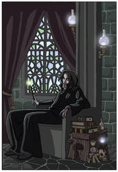 Severus Snape -HP- by kyla79