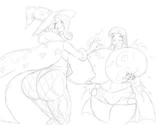 Magic Duel Gone Wrong by Marauder6272 by greatdragonad