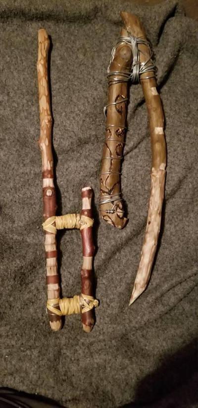 Strange wands by khiirhiidhos