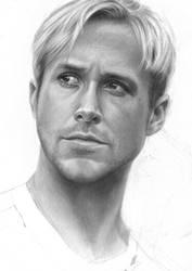 Ryan Gosling by mahyar-kalantari