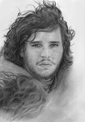 Jon Snow by mahyar-kalantari