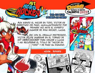 HIT HERO HOCKEY by DoonMangazine