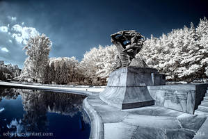Chopin statue by seba-j