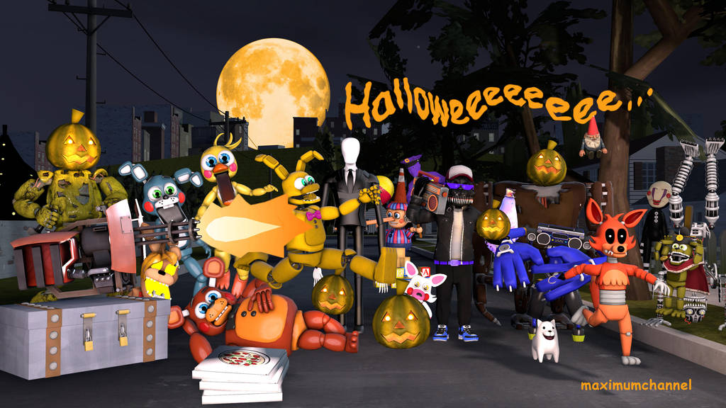 Halloween Sp00ks by MaximumPlayer