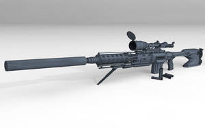C-25 Rifle concept by Alpha-Leader