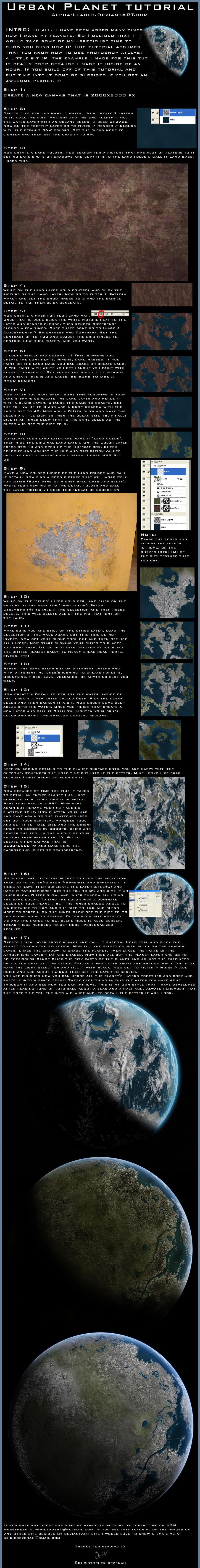 Urban Planet Tutorial by Alpha-Leader