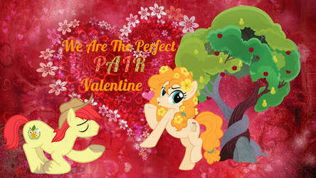 Pear Butter and Bright Mac Valentine 2018 by ziggyrocks6600