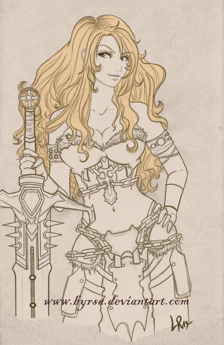 Grisel sketch by Byrsa
