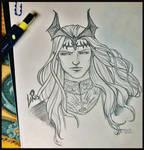 Elric of Melnibone by Byrsa