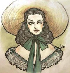 Scarlett O'hara by Byrsa
