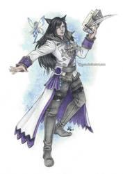 Commission: Jae'a Selida by Byrsa