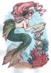 Student mermaid by Byrsa