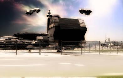 Spaceport by oigaitnas