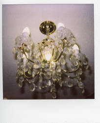 hanging from the chandelier by lastbestthing