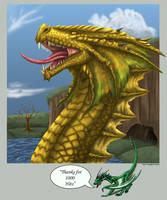 Tousand Hits Dragon by Sheranuva