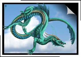 Sky Dragon by Sheranuva