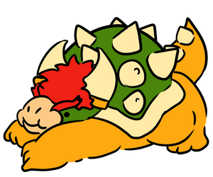 Squishy Bowser by Jossly-Draws