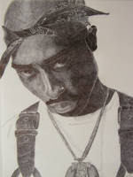 2pac by OMKDrawings