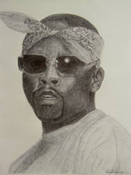 Nate Dogg with Ballpoint pen by OMKDrawings