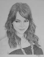 EMMA STONE by OMKDrawings
