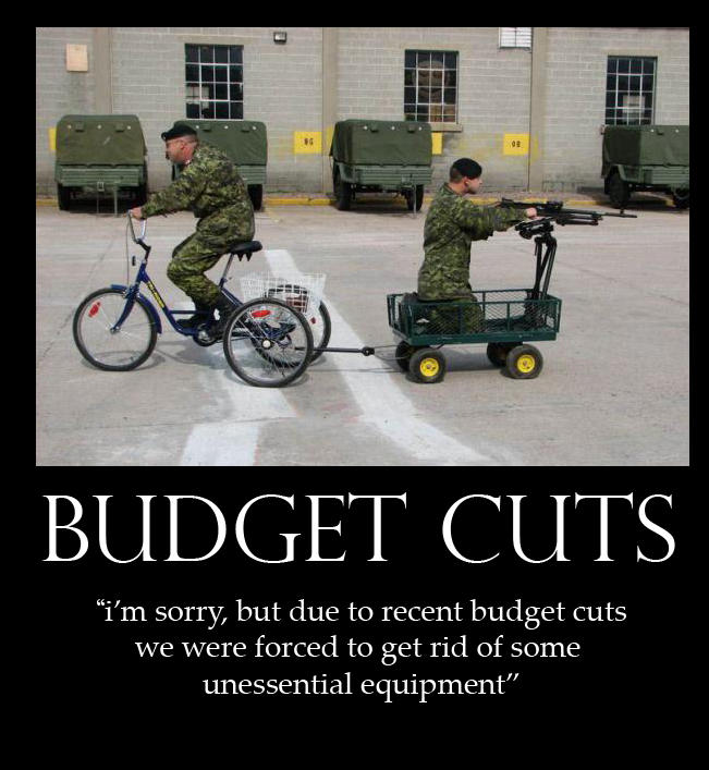 Budget cuts by Sn1p3rz