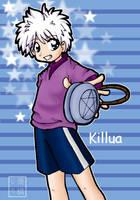 Killua: Catch The Yoyo by dementedmonkey
