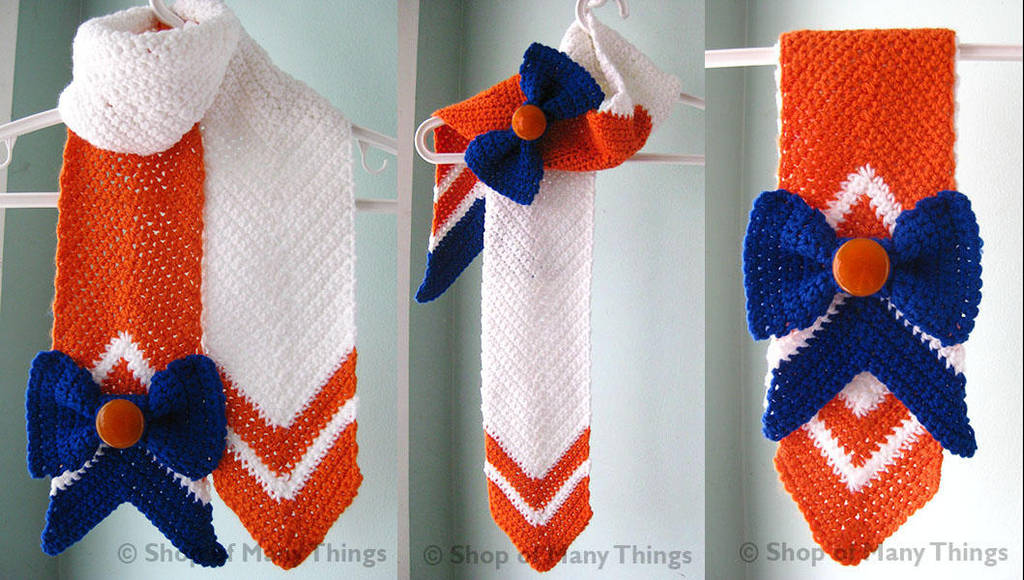Sailor Venus Scarf By Crafterofmanythings On Deviantart