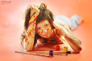 Painter II by Isa-Wyrd