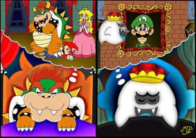 What villains dream by Princesa-Daisy