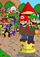 Arrivederci, Mario brothers... by Princesa-Daisy
