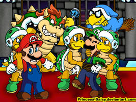 Game over, Mario brothers by Princesa-Daisy
