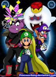 Luigi  rivals by Princesa-Daisy