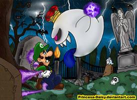 Luigi's Mansion 2-Final fight by Princesa-Daisy