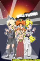 Princesses to Hollywood by Princesa-Daisy